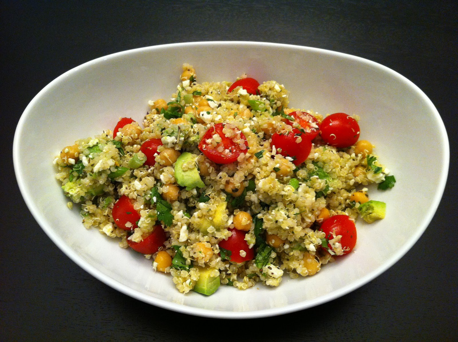 Quinoa With Chickpeas And Tomatoes Recipes — Dishmaps