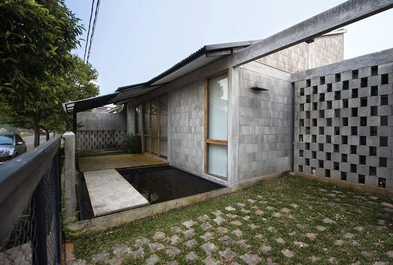 desain bangunan rumah sederhana modern kompak murah