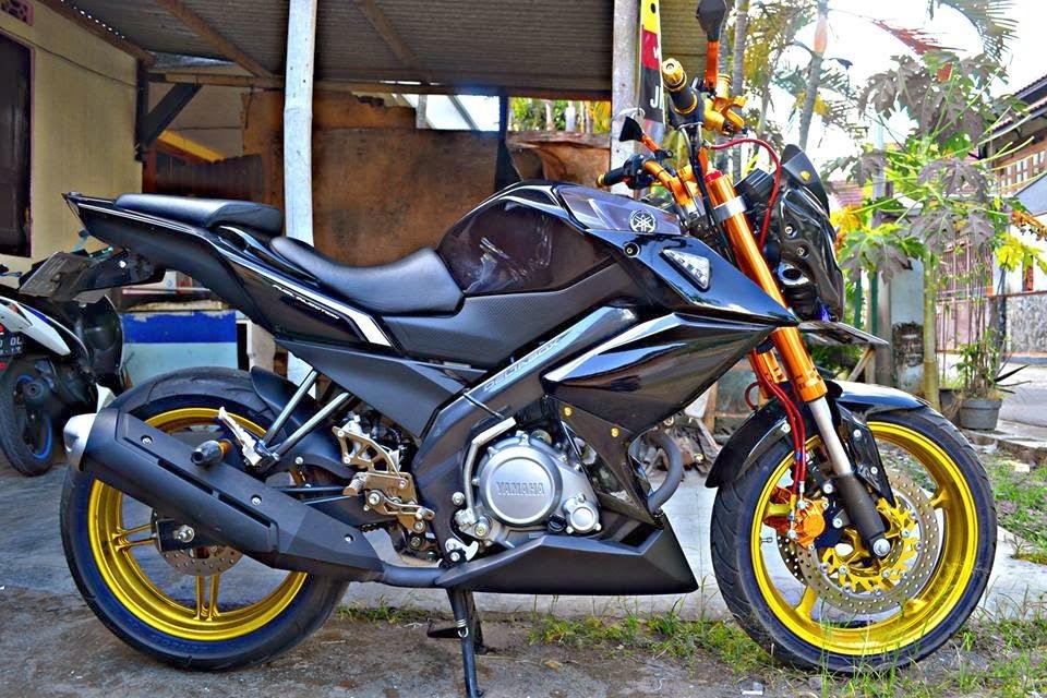 Modifikasi Motor Yamaha New Vixion Lightning