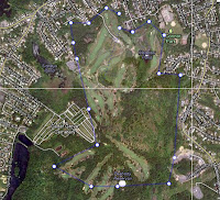 Google view of Meadow Golf Course in Peabody Massachusetts