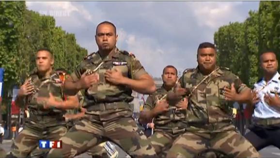 Haka Militaire du 14 juillet