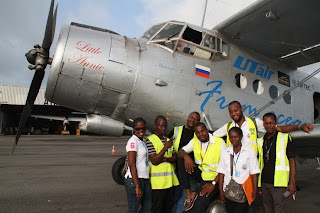 Antonov 2 trip from Russia to South Africa