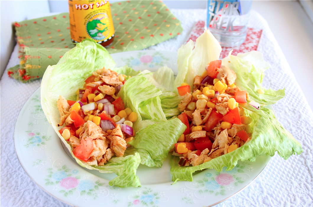 Mama Grubbs Grub: Dat'I Do-It Chicken Lettuce Wraps