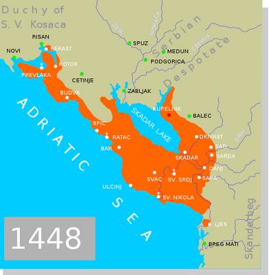 Quando il Montenegro si chiamava Albania Veneta