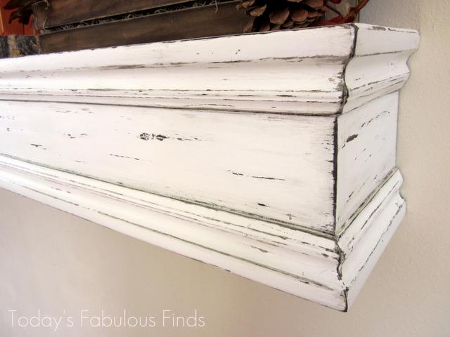 DIY Fireplace Mantels Shelves