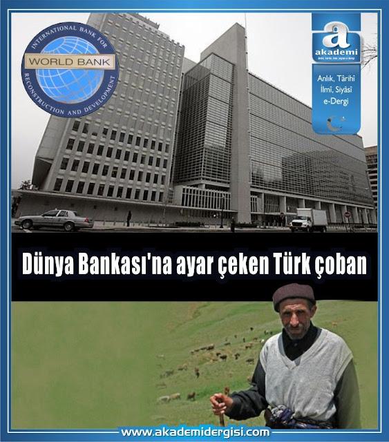 Dünya Bankası'na ayar çeken Türk çoban
