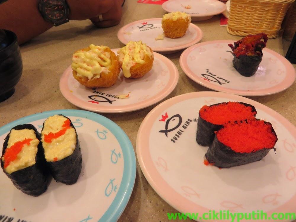 ciklilyputih the lifestyle blogger sushi king nak. Black Bedroom Furniture Sets. Home Design Ideas