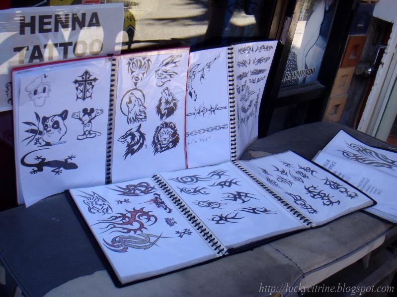 Henna Tattoo Quezon City : Lucky citrine henna tattoo at p boracay