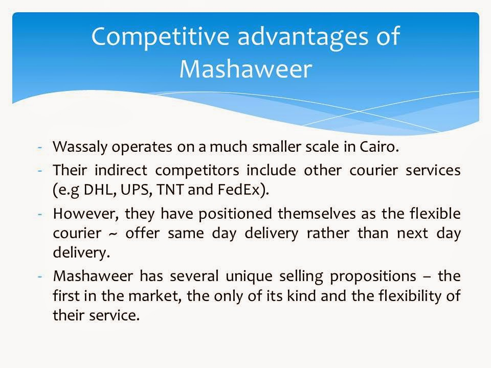 study case mashaweer Teamwork:67 case study: mashaweer: online personal services in the gulf 67 references: 71chapter 2 global e-business and collaboration 72find more at www.