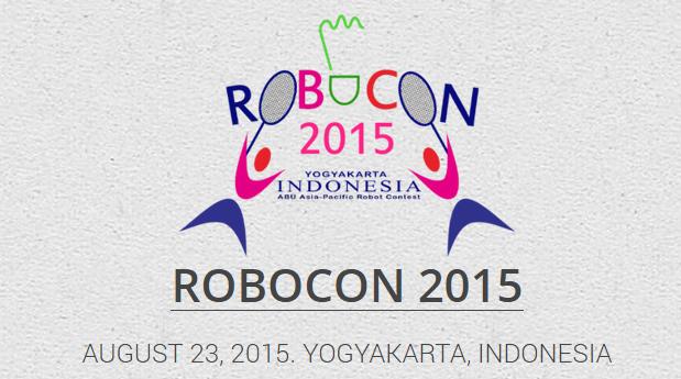 Abu Robocon 2015 Badminton Yogyakarta Indonesia