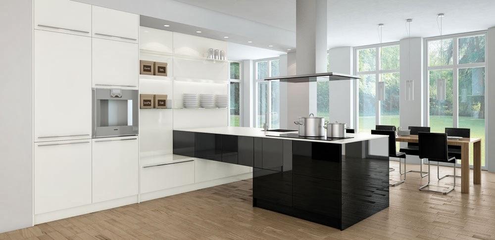 Cocinas descaradamente abiertas cocinas con estilo - Cocinas con peninsula ...