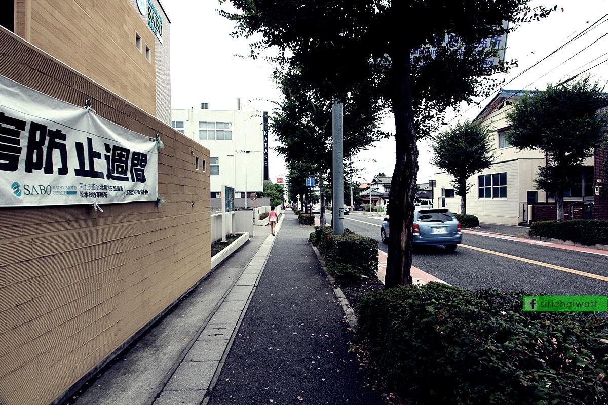 บรรยากาศริมถนน อ.มัทซึโมโต้
