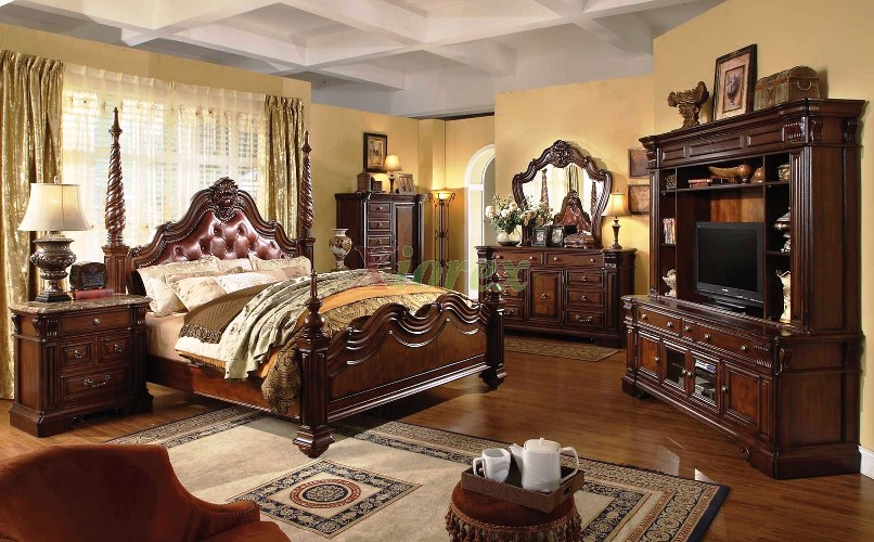Modern Traditional Bedroom Classic Furniture Luxury Design Antique
