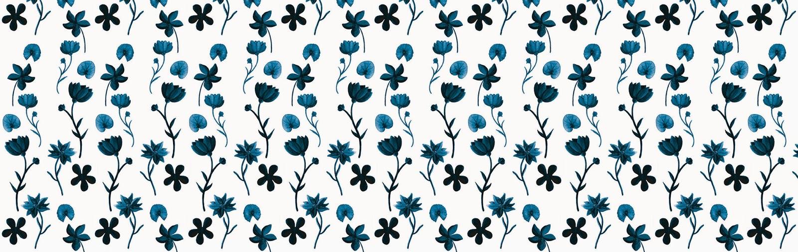 Blue Flowers - Jen Haugan Animation & Illustration