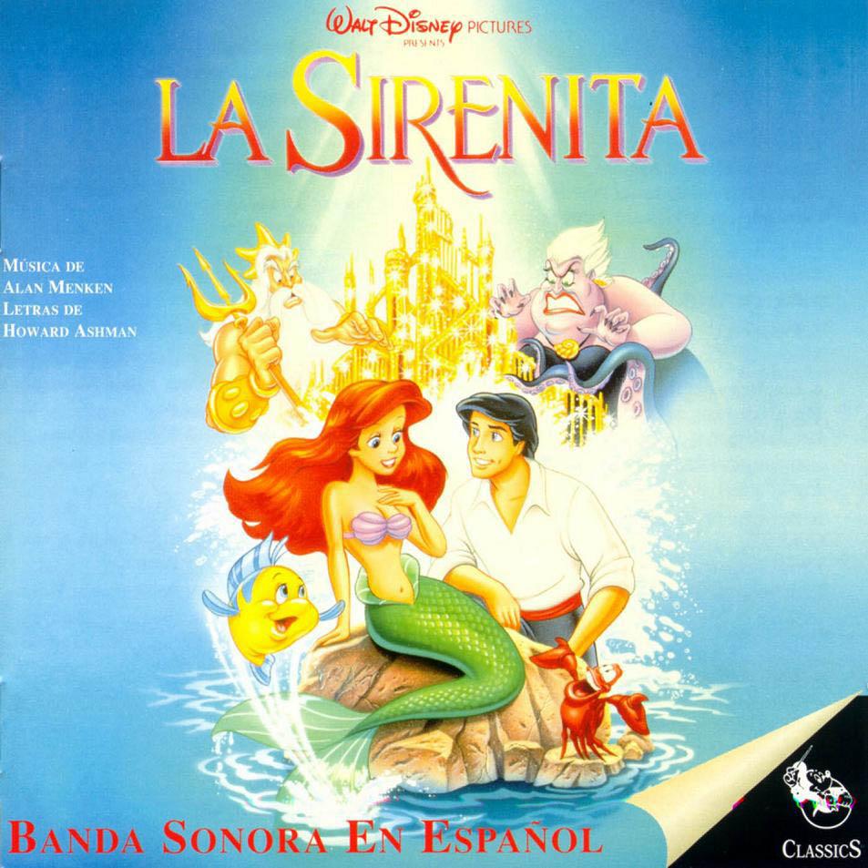 Carátula de la banda sonora de La Sirenita