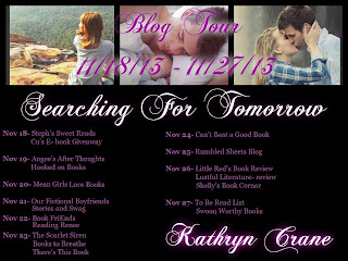 Searching For Tomorrow by Kathryn McNeill Crane Blog Tour Guest Review by Tracy & Giveaway