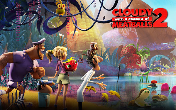 Nonton Online Film Cloudy with a Chance of Meatballs 2