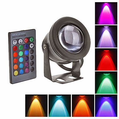 Luces led de colores iluminaci n de piscinas con luces led - Focos de leds para casa ...