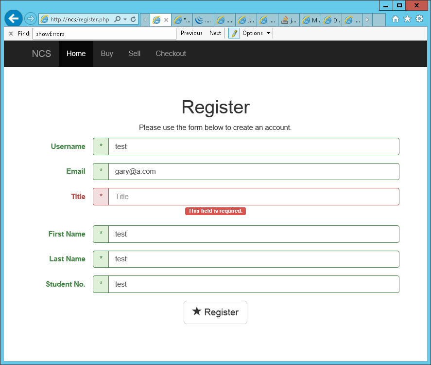 GaryMcAllisterOnline: jQuery Form Validation and Twitter Bootstrap 3