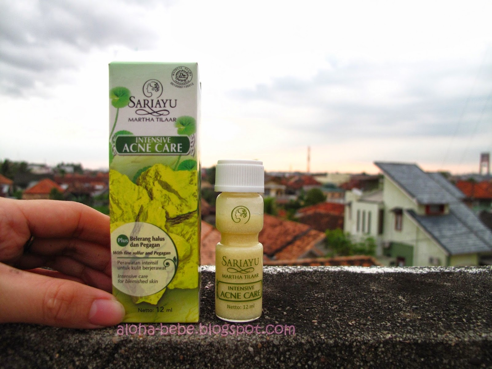 Review Sari Ayu Intensive Acne Care | Princess Pink
