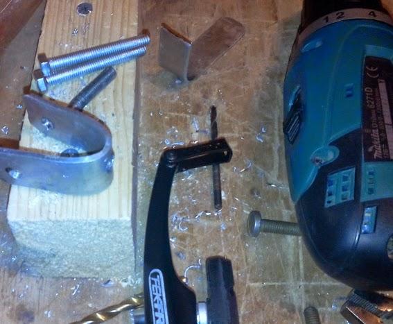 Изготовление крепежа для v-brake фото