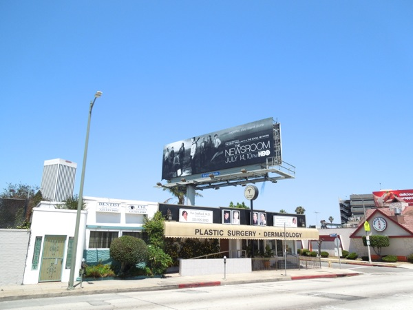 The Newsroom series 2 billboard