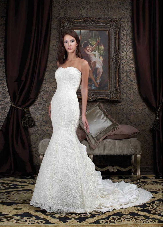 Elegant Mermaid Wedding Dresses - World of Bridal