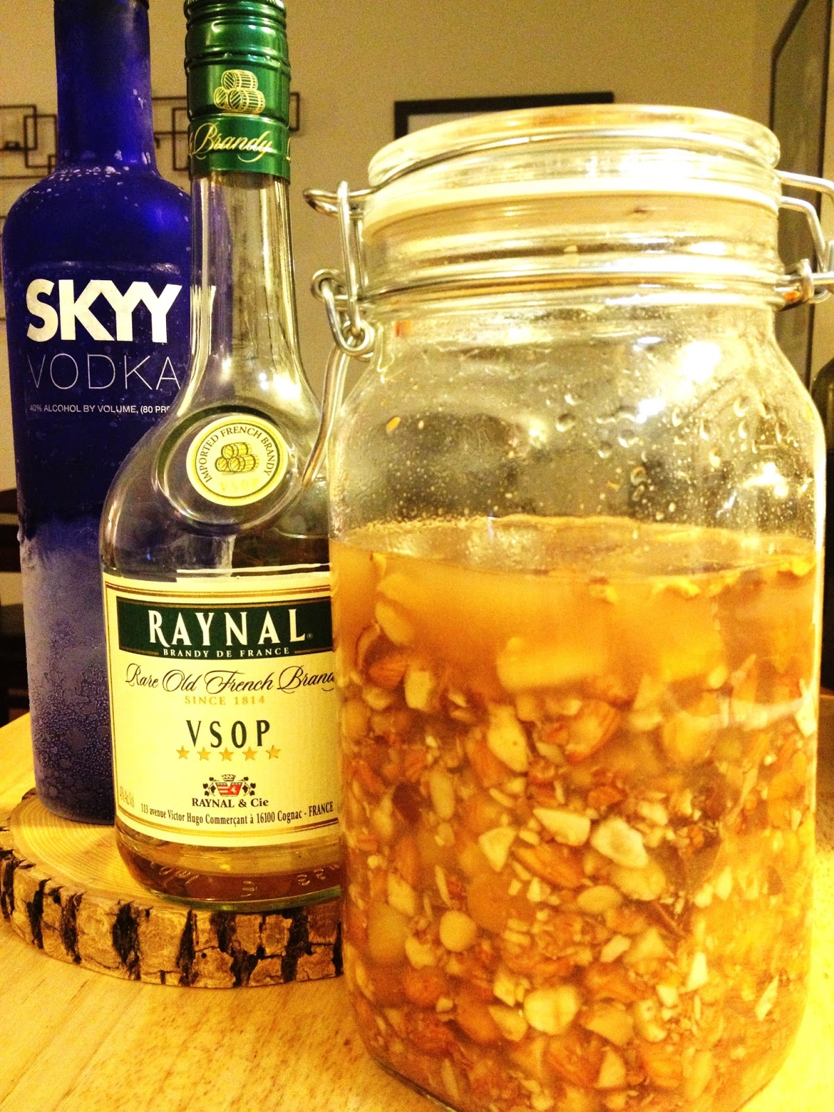 Homemade Amaretto - makes 4 cups