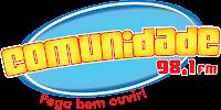 ouvir a Rádio Comunidade FM 98,1 ao vivo e online  Gama DF