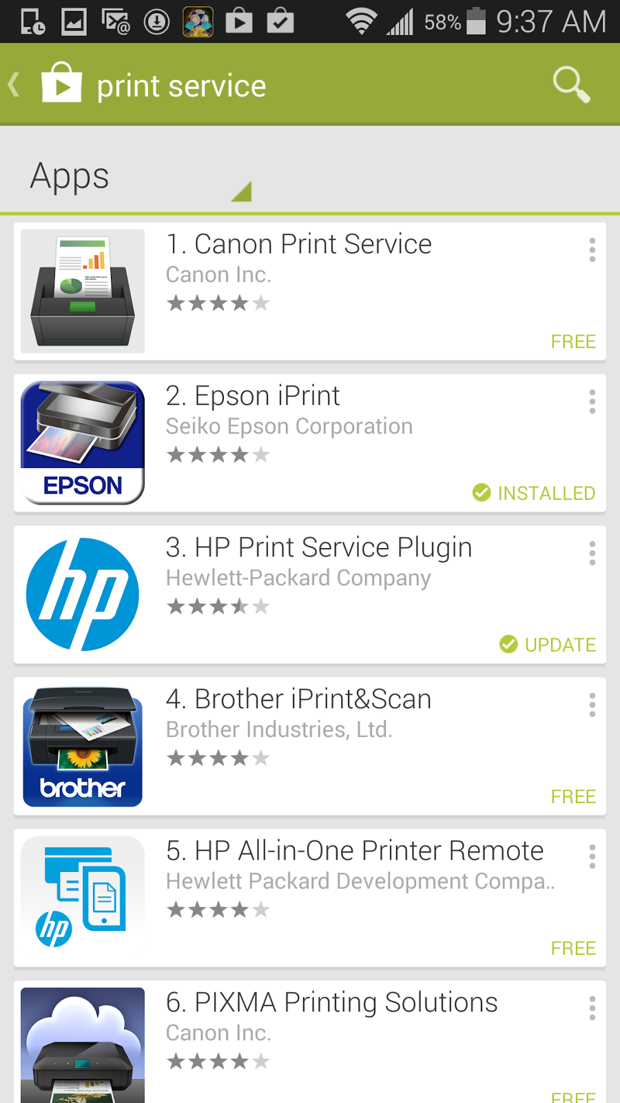 4 Find Your Printer Plug In Software From The List At TheTechDigit We Use Epson Workforce 845 As Our Color And Install It On Phone