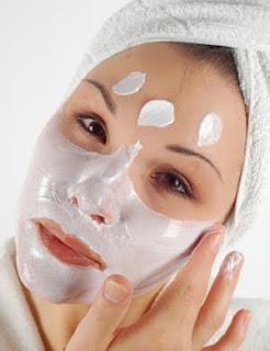 Winter facial mask