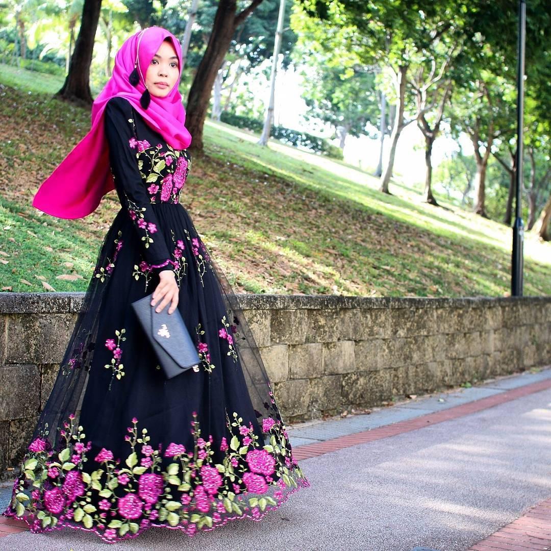 Gambar Sketsa Baju Muslim Remaja 28 Images 13 Model