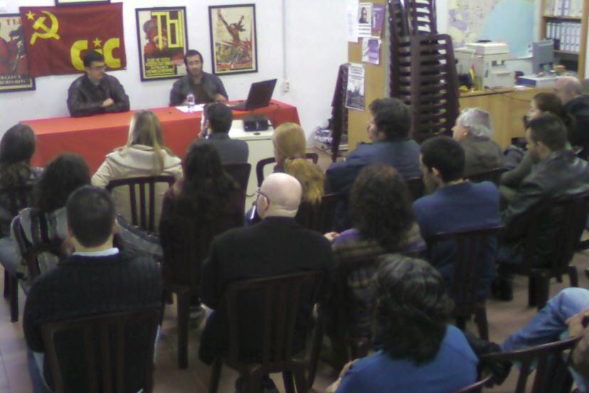 [CJC Málaga] Viernes 7, Acto: ¿Cómo se organiza una revolución? Charla1