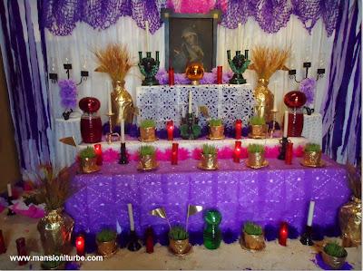 Altar de Dolores en Pátzcuaro del Hotel Mansión Iturbe