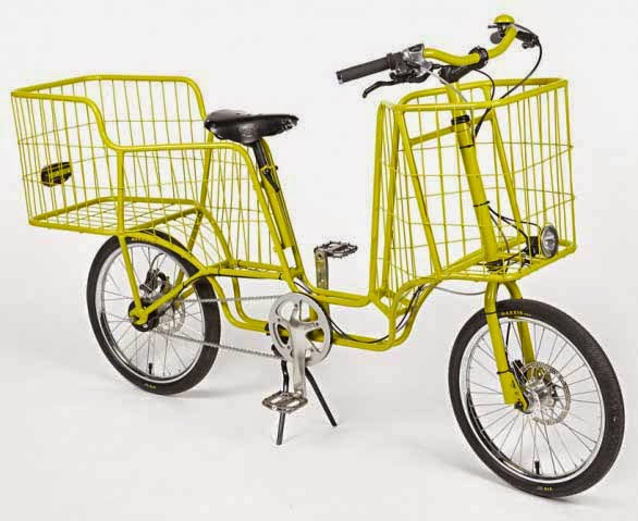 Camioncyclette, Bicicleta Diseñada para Cargar Paquetes