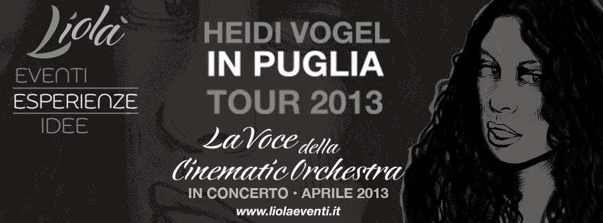 Heidi Vogel Puglia Tour -  April 2013