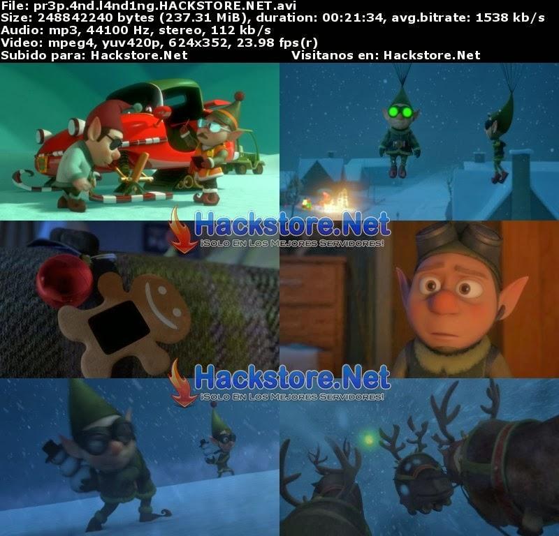 Captura Escuadrón de Navidad (2009) DVDRip Latino