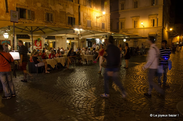 Rome -Trastevere by night