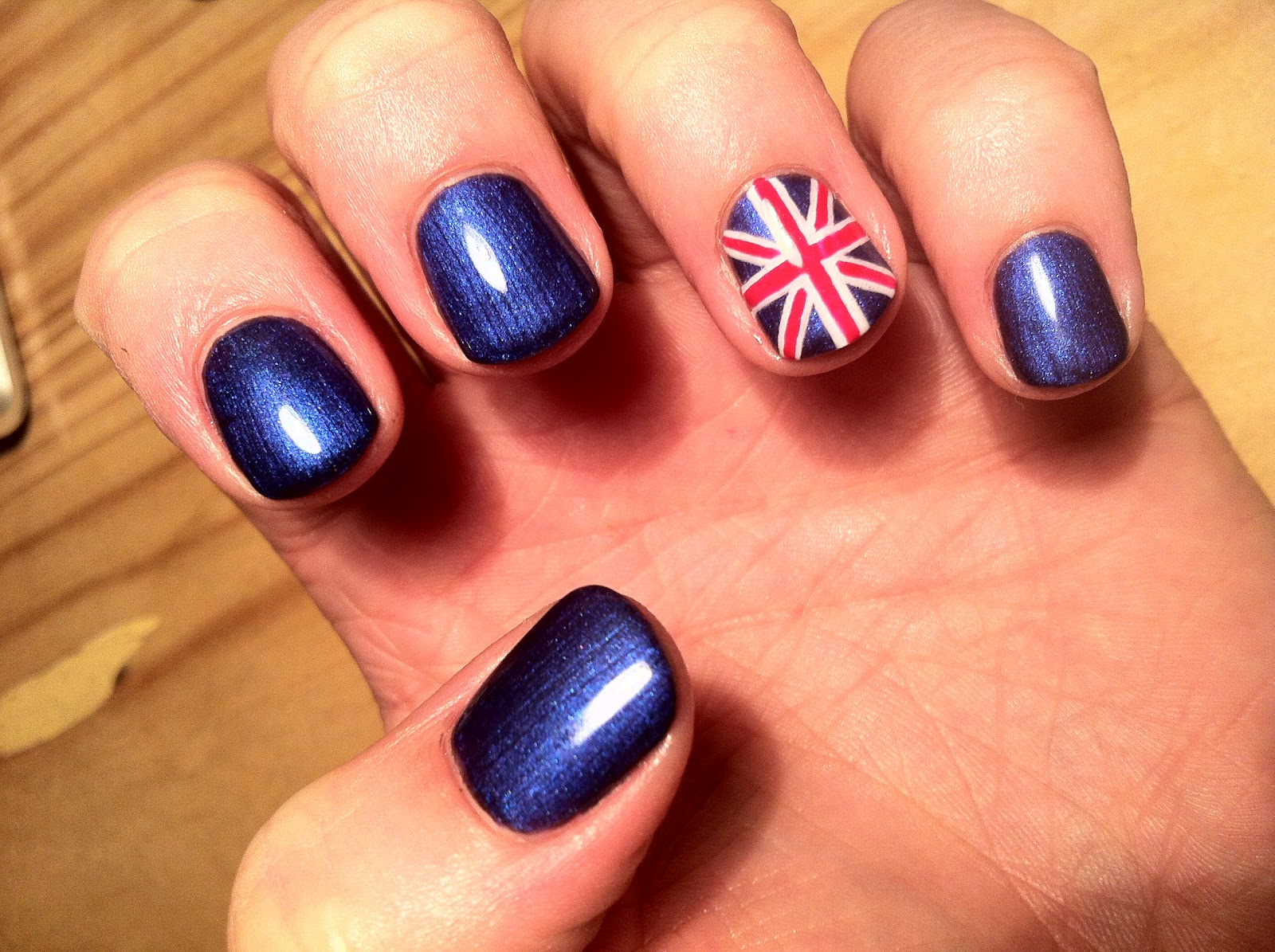 Brush up and polish up cnd shellac nail art union jack so the olympics may now be over but it didnt stop me celebrating a little of team gb on my nails during the weeks of sporting events prinsesfo Image collections