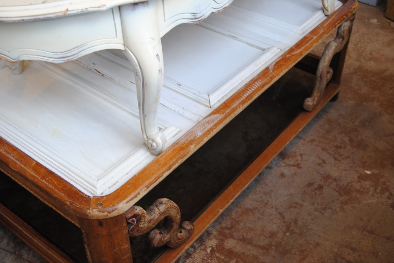 The daily uptown country what 39 s new in the shop feb 6 2013 for Architectural salvage coffee table