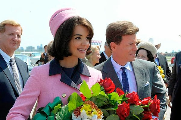 Katie Holmes once again play the role of Jacqueline Kennedy