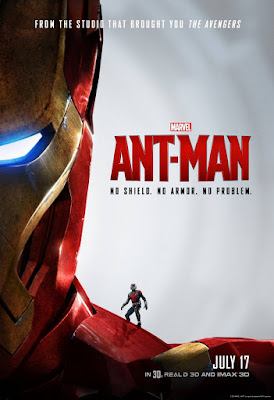 "Ant-Man & The Avengers ""No Shield. No Armor. No Problem."" Teaser Movie Poster Series - Iron Man"