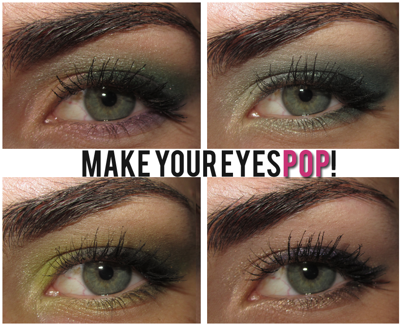 Eye makeup for deep set blue eyes