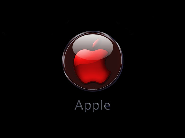 red apple logo wallpapers
