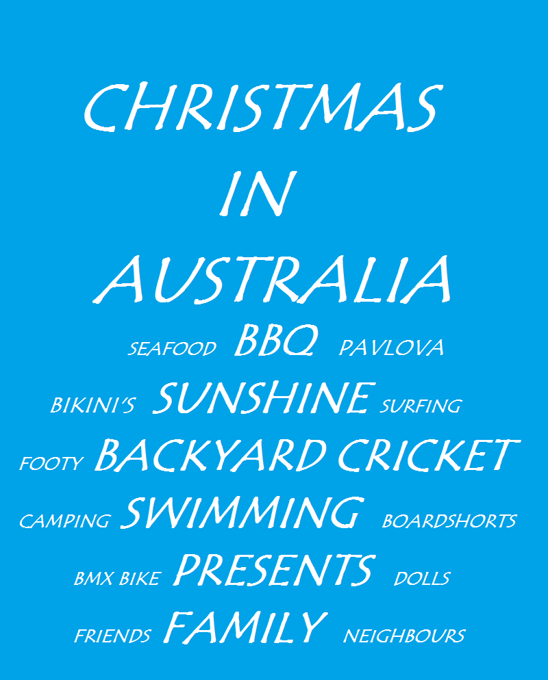 ... Friday, Christmas the Aussie way! A free printable gift from me to you