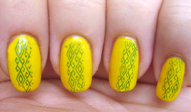 "Yellow Nails"" title="