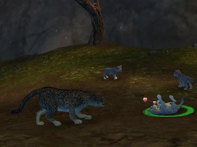 Guild Wars 2 GW2 snow leopard