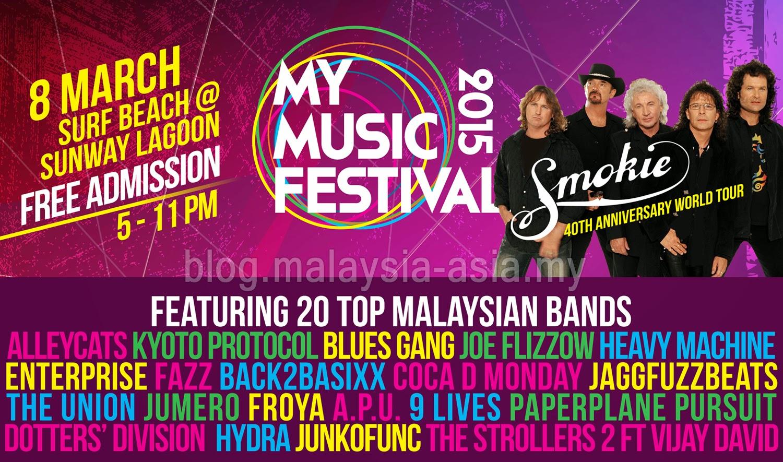 Malaysia My Music Festival