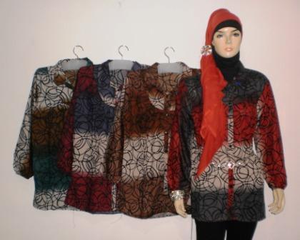Dress Murah Bk0286 Grosir Baju Muslim Murah Tanah Abang