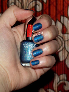 Pupa Holographic Nail Polish nr 034 - Denim Blue